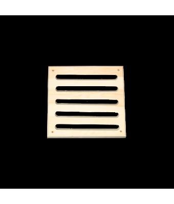 Grila din lemn de pin pentru sauna - Exterior - Sentiotec