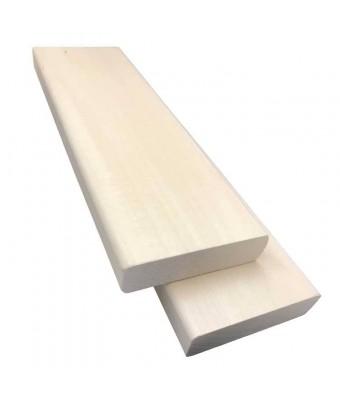Lemn din esenta de tei pentru sauna - 2.5 metri - SPAZONE
