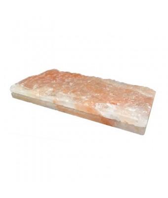 Caramida de sare nefinisata - HIMALAYA - 20 x 10 x 2.5 cm - SPAZONE