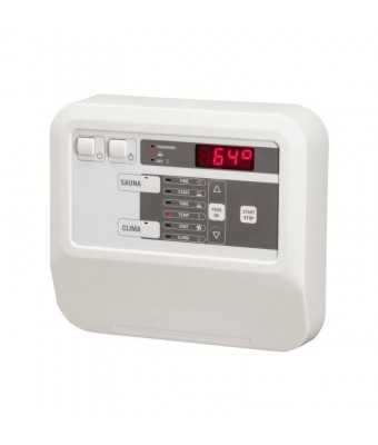 Panou de control cu ventilator si temporizator pentru sauna publica - CK31 Combi - 10.5 kW - Sentiotec