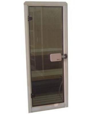 Usa de sauna 192x72cm cu geam din sticla Aurora High Class - SPAZONE