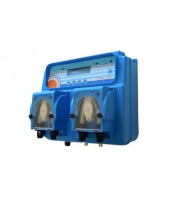Kit dozator -regulator peristaltic MP Dual  PH - 1,5l/h / RX - 3,0l/h