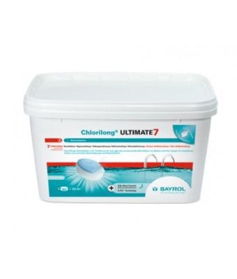 Tablete clor Clorilong Ultimate 7 - 4.8 Kg - Bayrol