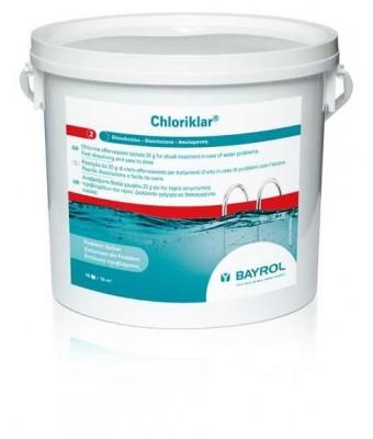 Clor rapid tablete Chloriklar - Bayrol 5kG