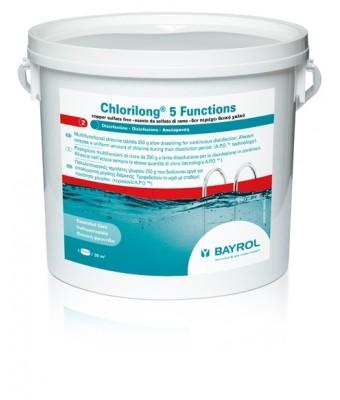 Clor lent tablete 5 functii Chlorilong - Bayrol 5kG