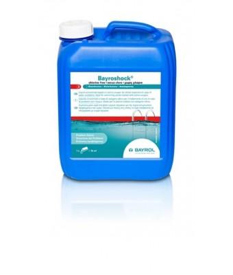 Oxigen activ lichid soc Bayroshock 5 litri - BAYROL