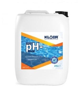 pH minus lichid  CPH-20 litri - Kloer