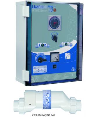 Electrolizor de sare LIMPIDO PRO 320 pentru piscine intre 160mc si 320mc