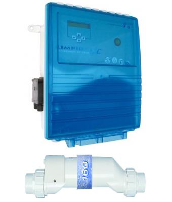Electrolizor de sare LIMPIDO XC 60 PH cu dozare PH integrata  pentru piscine pana la 60mc