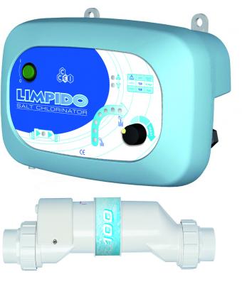 Electrolizor de sare LIMPIDO 150 pentru piscine intre 100mc si 150mc