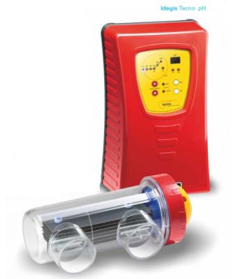 Electrolizor de sare TECNO PH cu controler PH integrat 7g Clor/ora pentru piscine pana la 25mc
