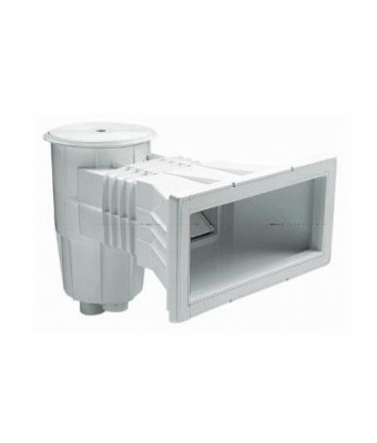 Skimmer beton 15 L , deschidere larga, cu capac rotund